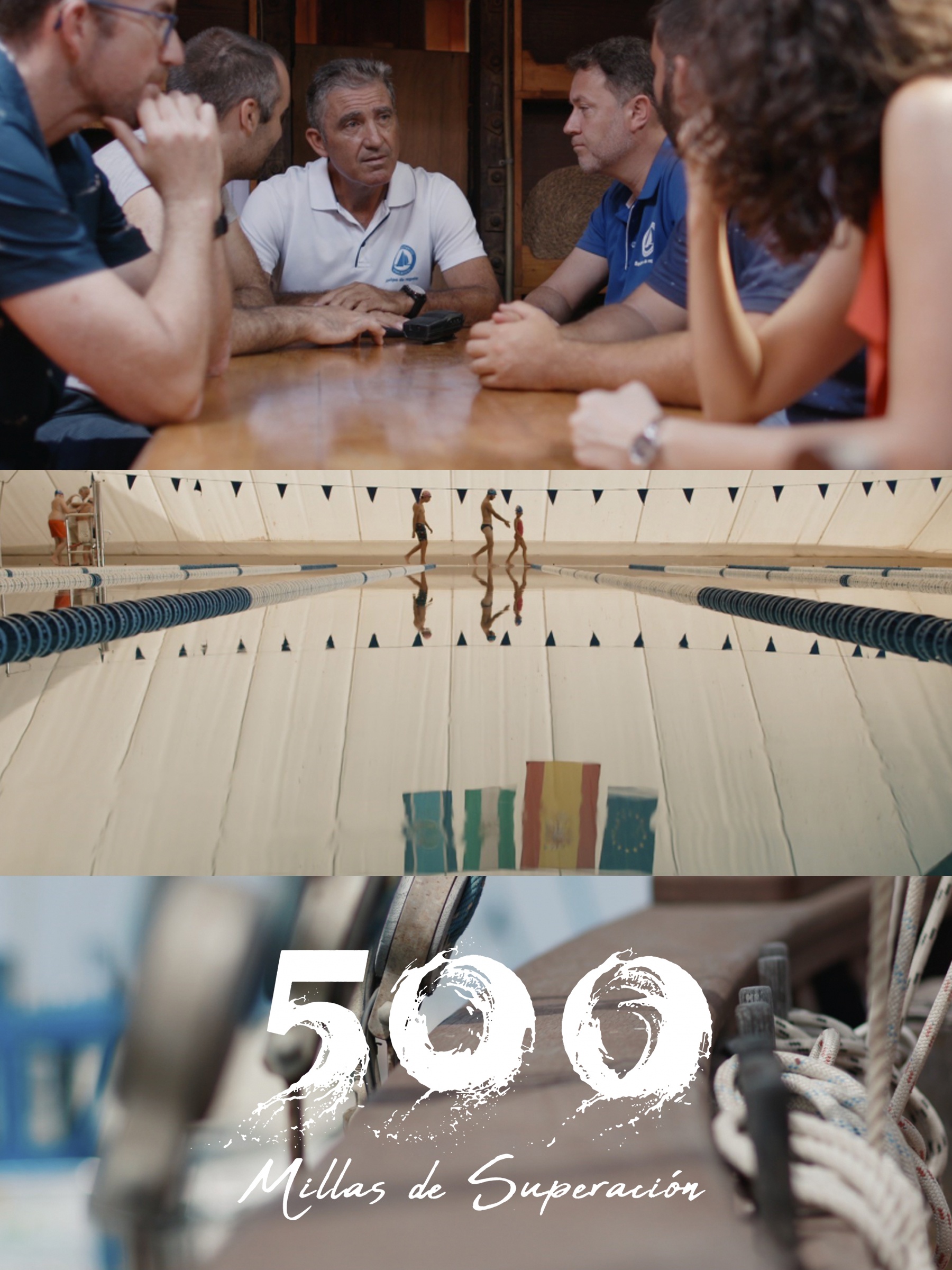 Cartell Documental 500 millas de superación